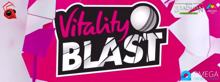 Vitality Blast T20 2019 Patch for Don Bradman Cricket 14