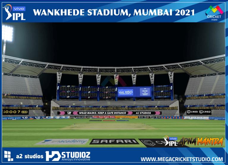 Wankhede Stadium 2021 for EA Cricket 07