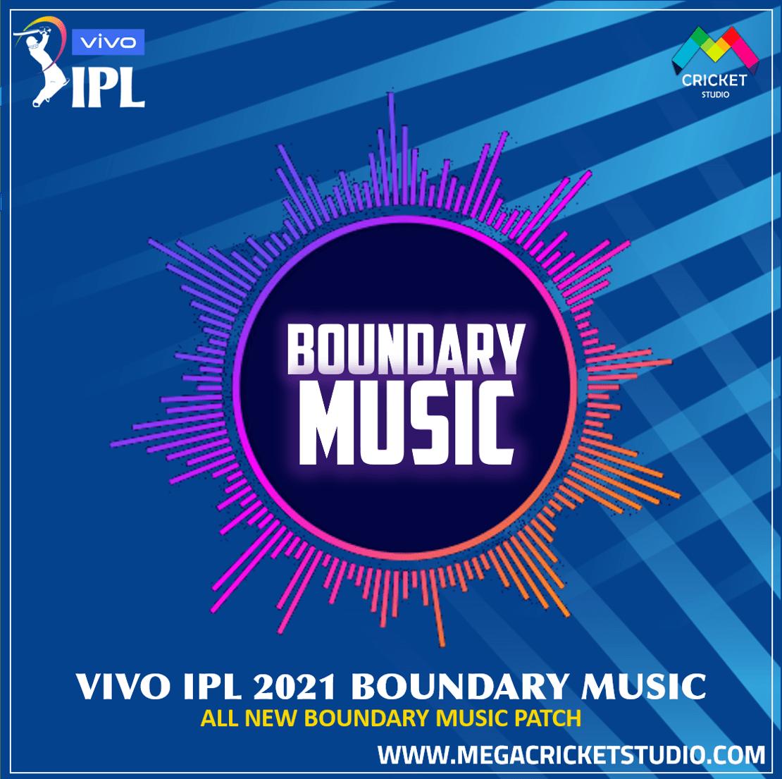 VIVO IPL 2021 Boundary Music Patch ea cricket 07