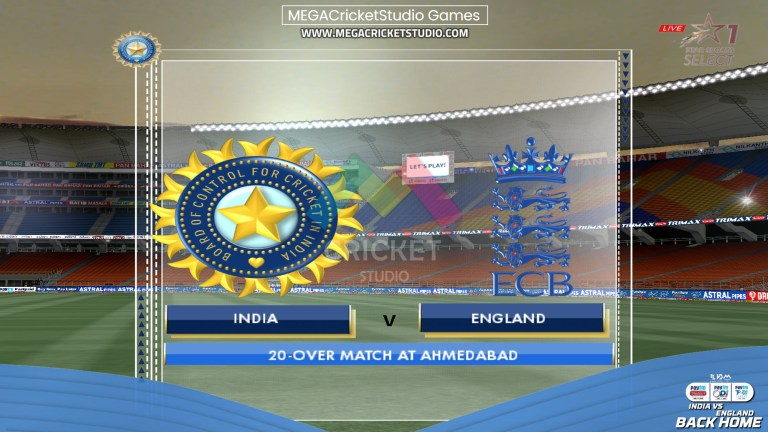 India vs England 2021 Back Home Patch for EA Cricket 07