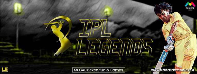 United StudioZ IPL Legends 2021 Patch for EA Cricket 07 – A Brand New 2021 Cricket Game for PC/Laptop