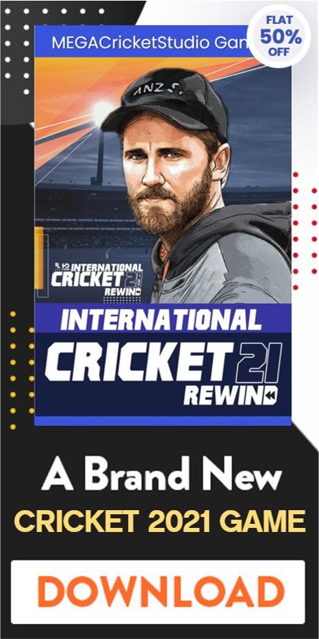 cricket 2021 rewind patch download
