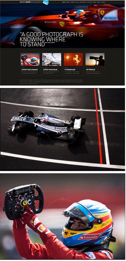 Darren Heath – Photographer. Formula One