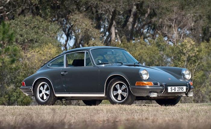 Steve McQueen's Porsche 911S to be auctioned in Monterey