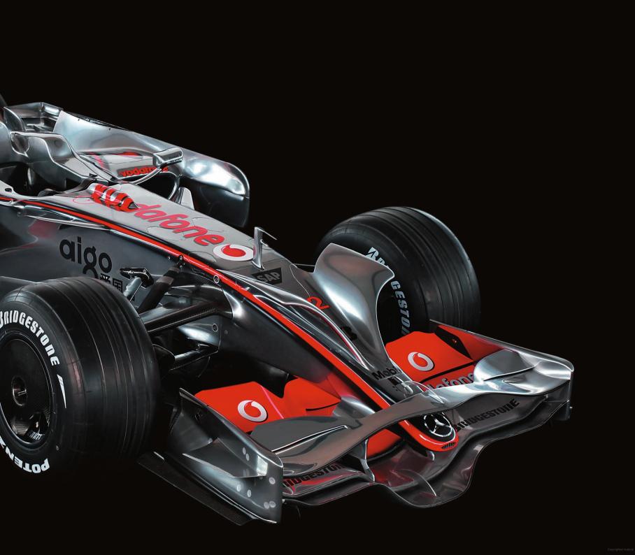 Art of the Formula 1 Race Car
