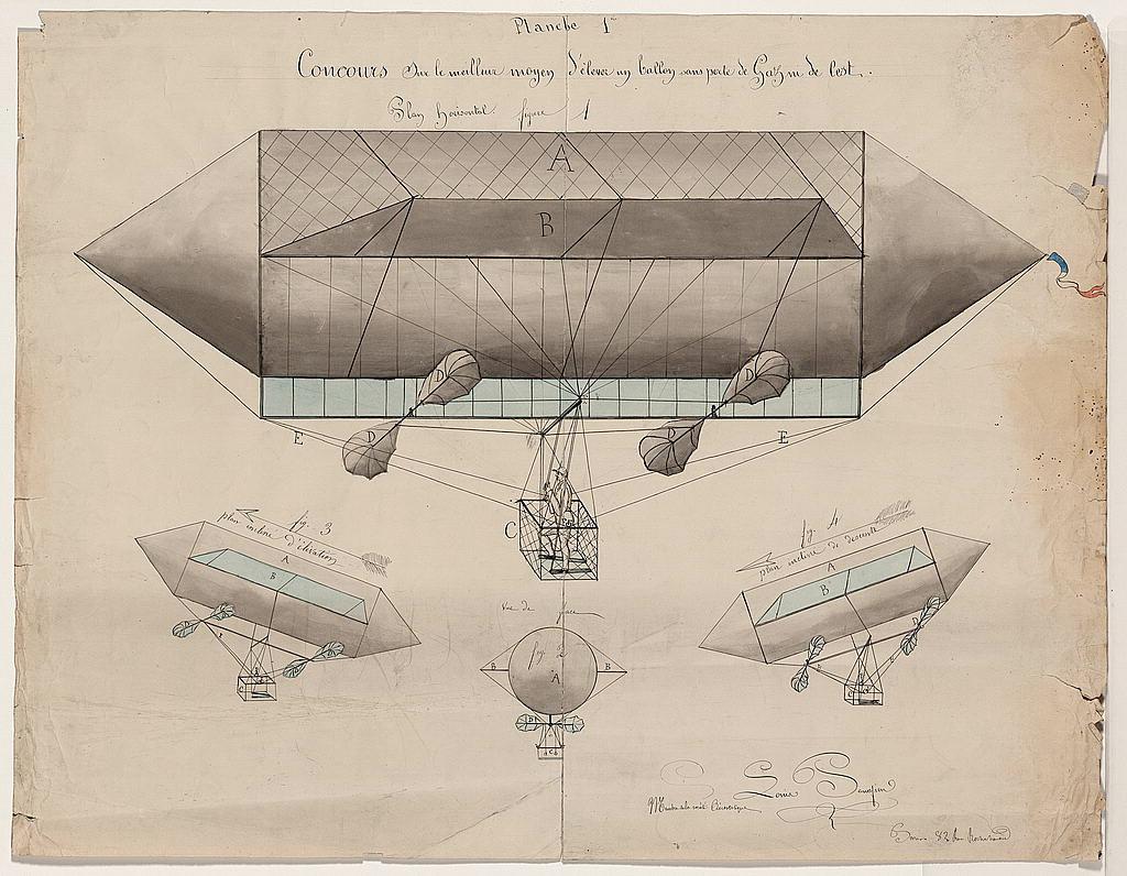 Balloon Design Drawing :: Louis Panafieu