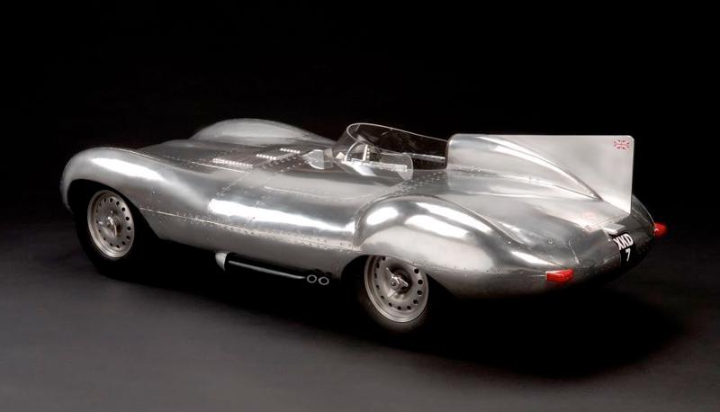'D-Type Jaguar,1955', unique sculpture by John Elwell.