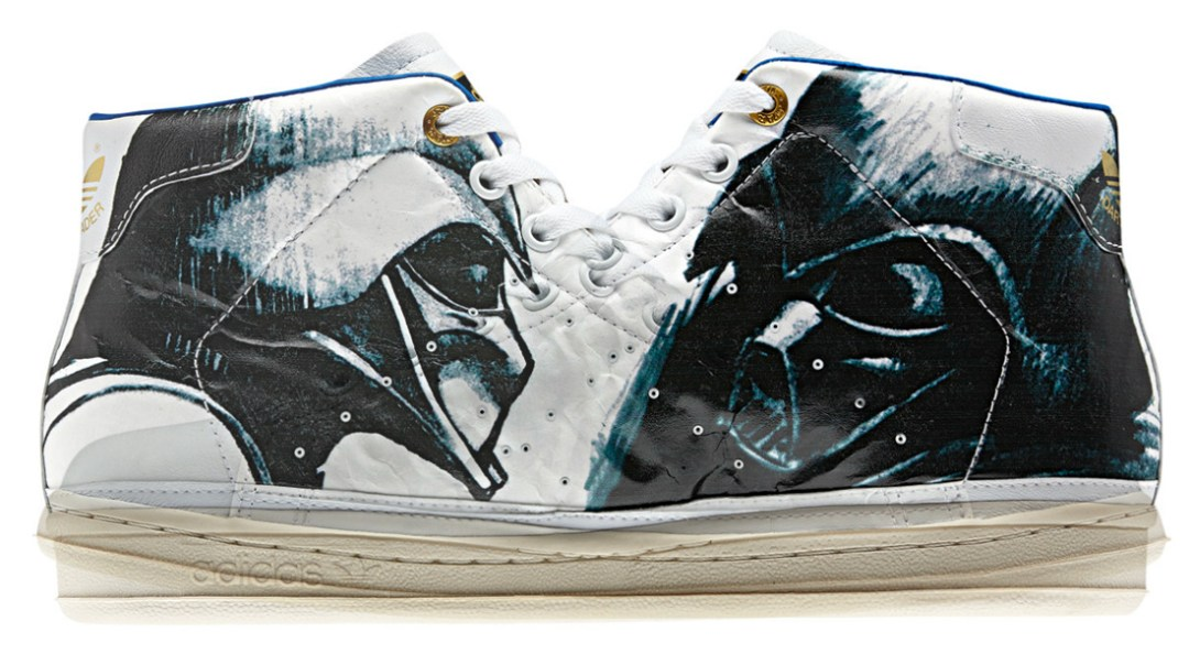 Star Wars Stan Smith 80s Mid Shoes :: Adidas (Beware, this dual image may cause sterility)