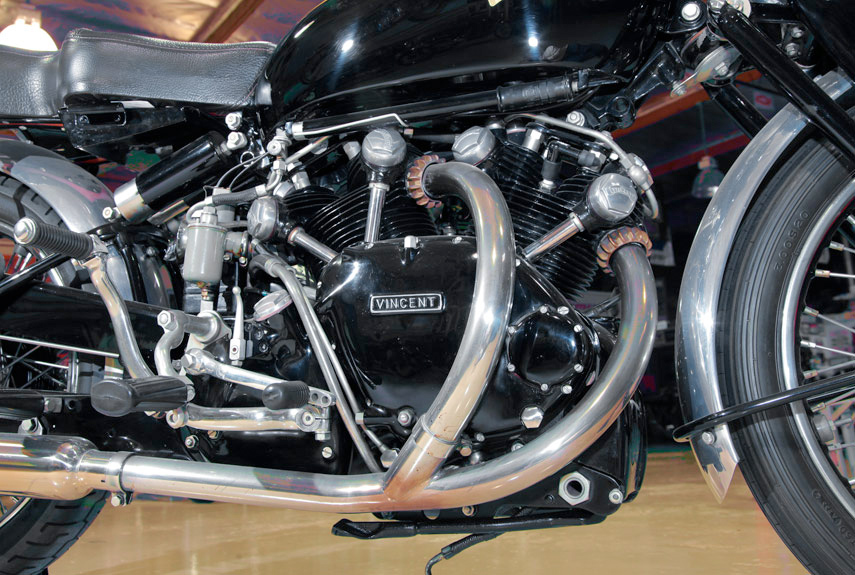 Vincent Black Shadow: The First Superbike, and Maybe the Best :: Jay Leno :: Popular Mechanics