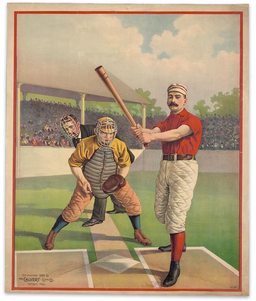 Baseball Poster No. 281 :: 1895