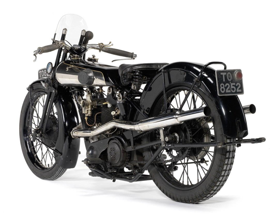 Brough Superior SS100 (1928) :: The Rolls Royce Of Motorcycles