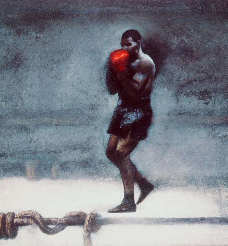 Mike Tyson Historic Art Auction :: Greg Spalenka