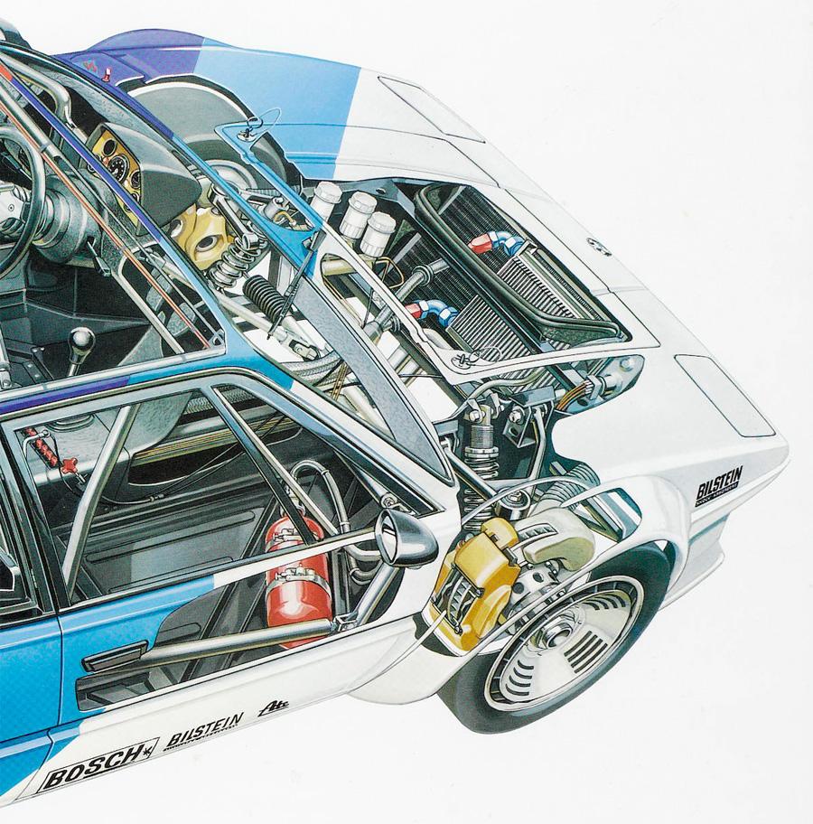 1979 BMW M1 Pro-Car Championship Factory Poster :: Bonhams