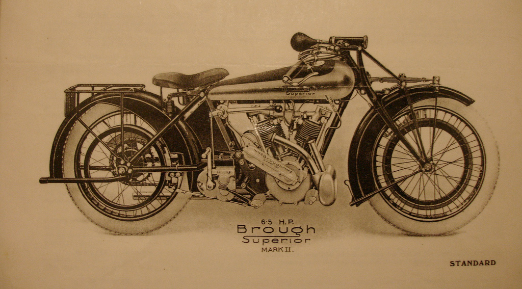 Brough Superior Mark II Standard 1922-23