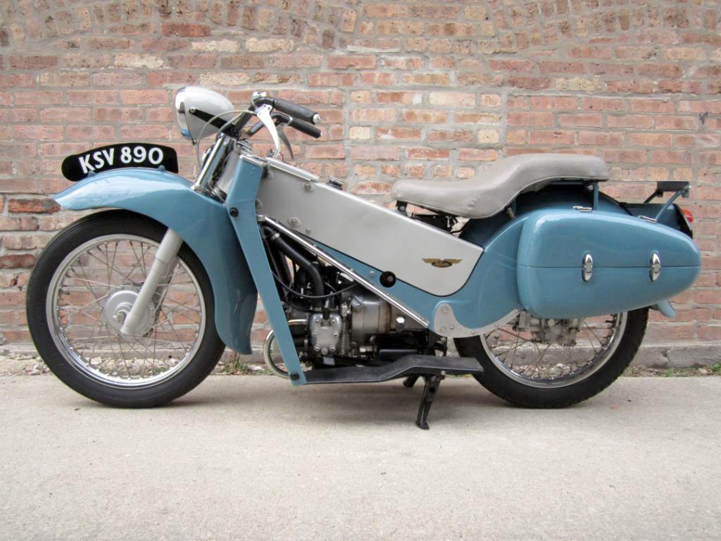 1957 Velocette LE 200 :: eBay Sale :: Throttle Yard (1)