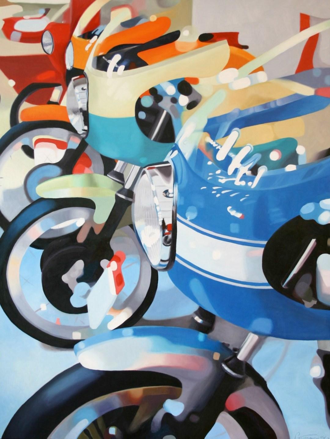 Motorcycle Art :: Guenevere Schwien