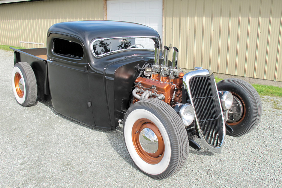 1936 Chevrolet Pickup Hot Rod Spirited Automobiles