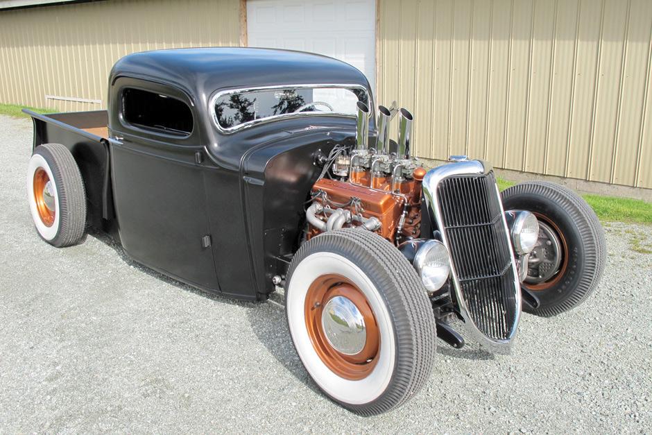 1936 Chevrolet Pickup – Hot Rod :: Spirited Automobiles