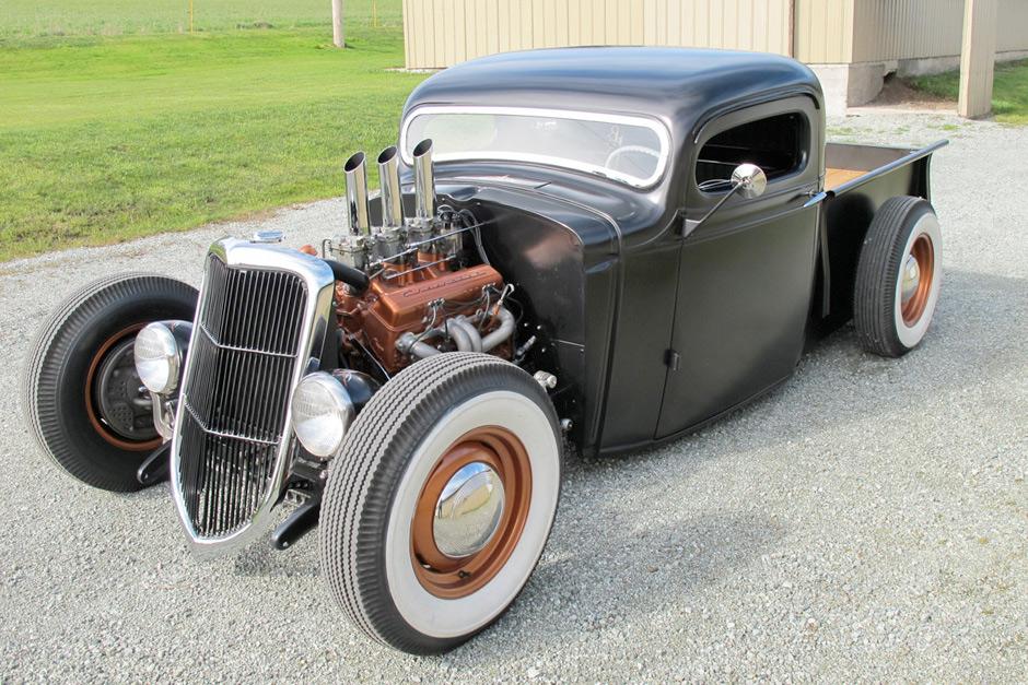 1936 Chevrolet Pickup – Hot Rod :: Spirited Automobiles (2)