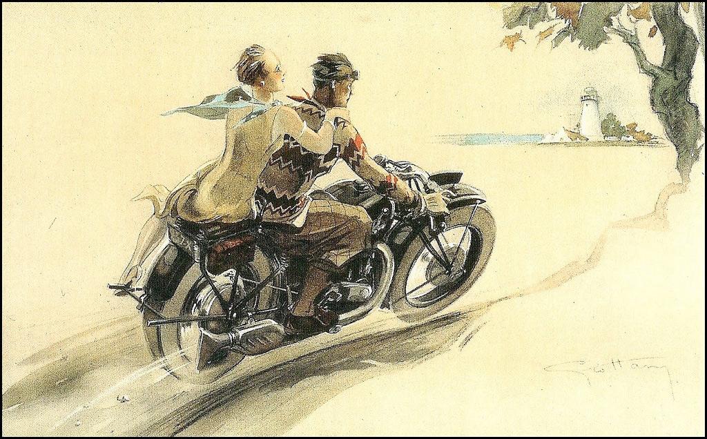 Brough Superior Posters :: By Géo Ham (4)