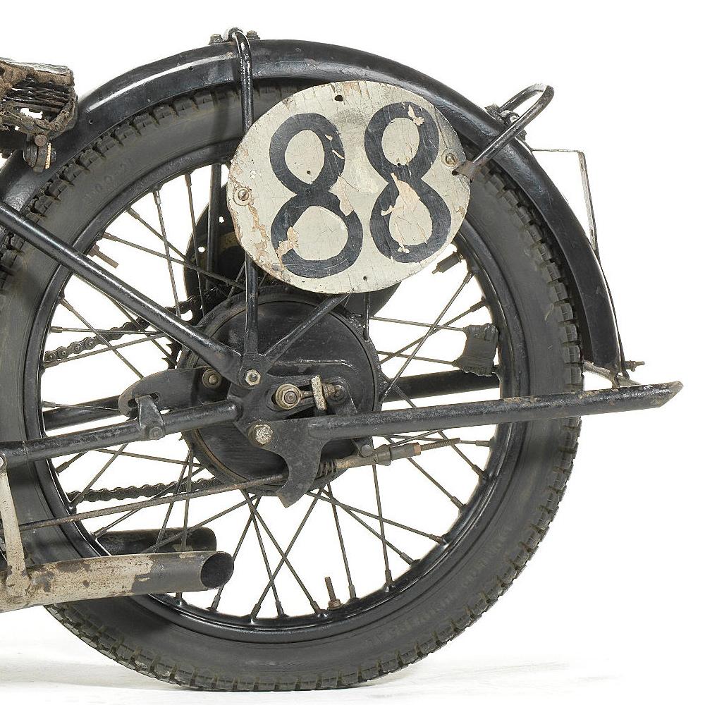 1927 Triumph Works TT Racing Motorcycle