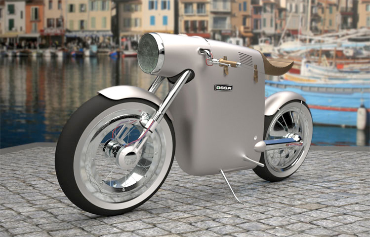 Monocasco Electric Concept Bike :: Art Tic Of Barcelona (1)