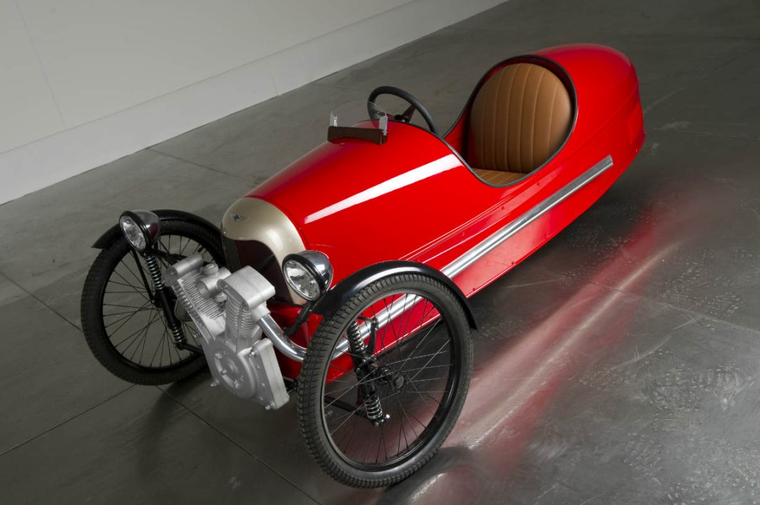 Morgan Motors :: 3 Wheeler Pedal Car (1)