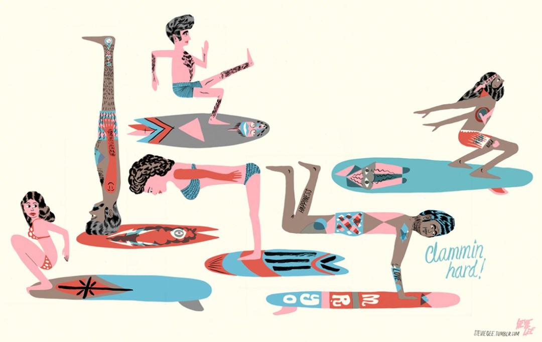 STEVIE GEE Illustration / Art direction / Design / Love making (7)