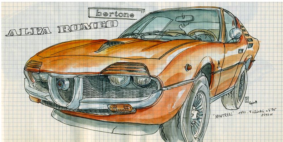 Alfa Romeo Centenary :: Les Illustrations de Lapin (1)