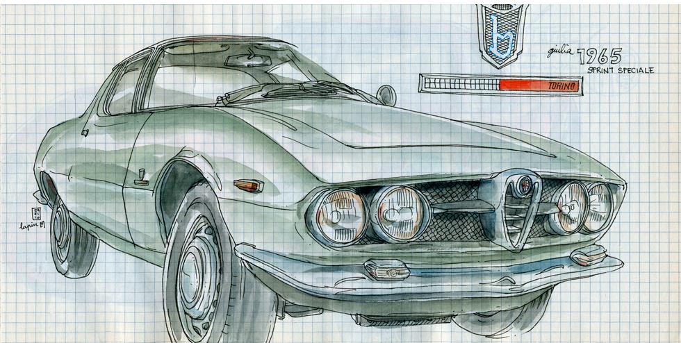Alfa Romeo Centenary :: Les Illustrations de Lapin (5)