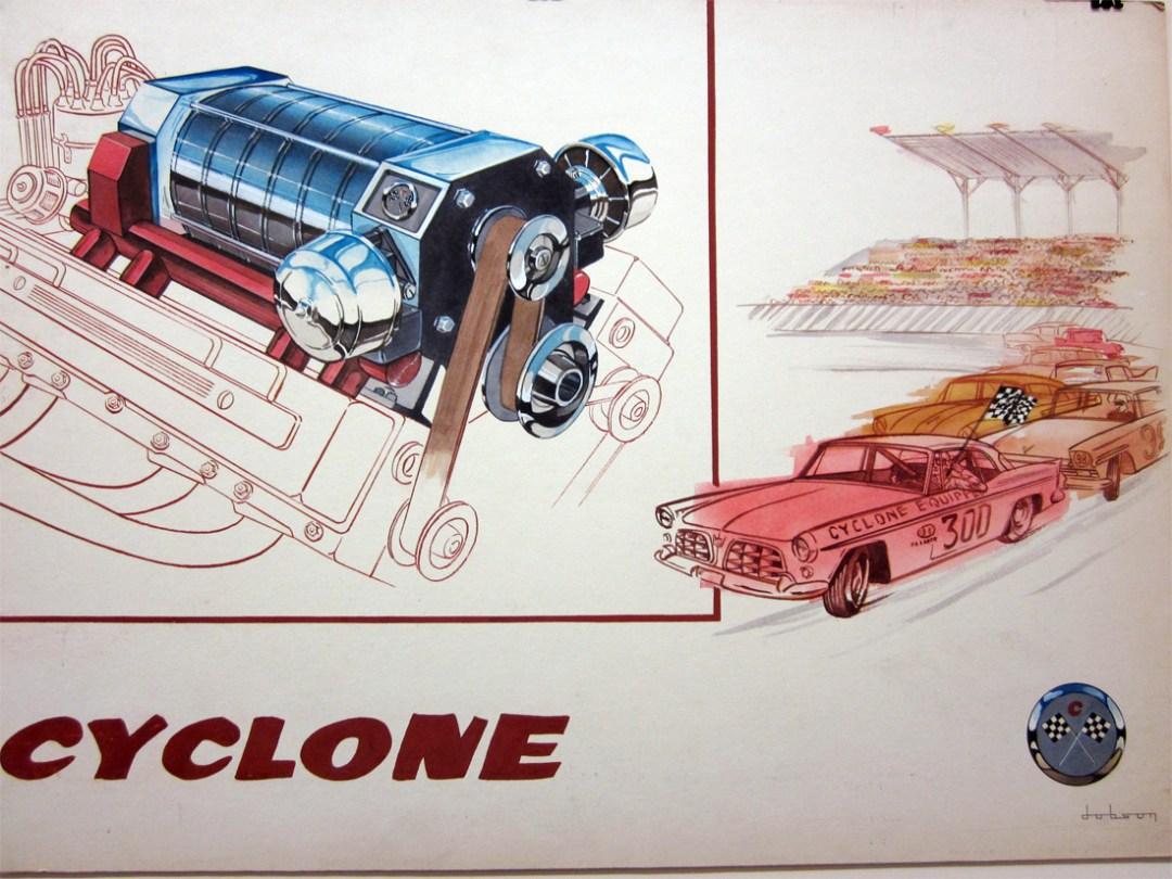 Bill Dobson :: Two Original Illustrations (2)