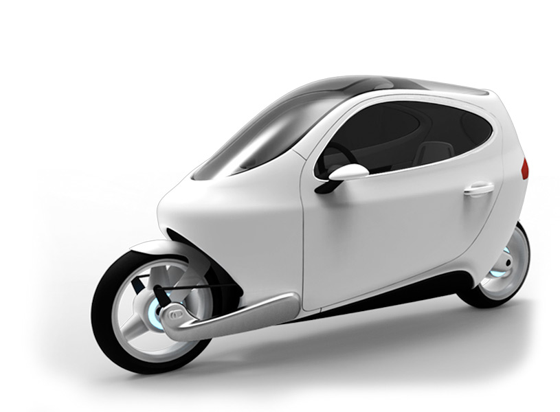 C-1 Motorcycle :: Rolling Smart Phone (1)