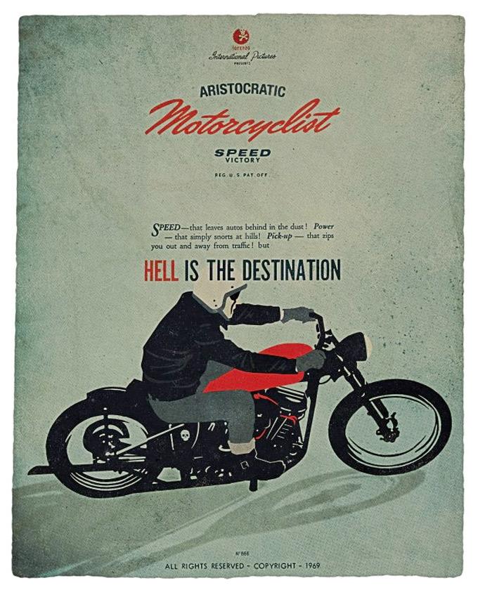 Aristocratic Motorcyclist (1)