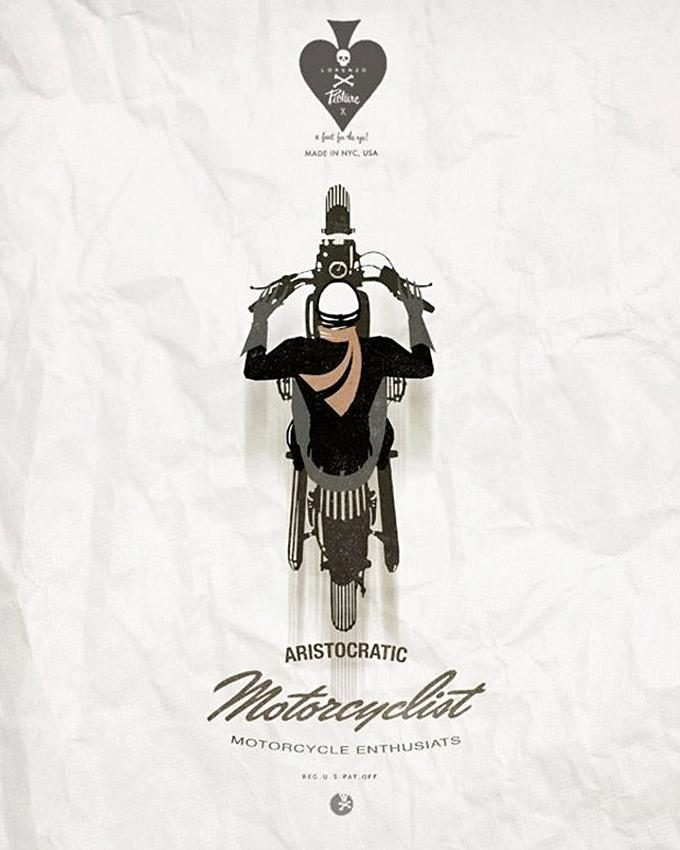 Aristocratic Motorcyclist (2)