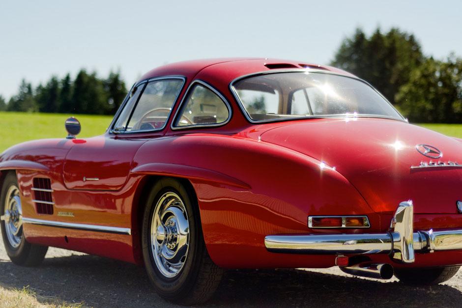 1955 Mercedes-Benz 300SL Gullwing :: Spirited Automobiles