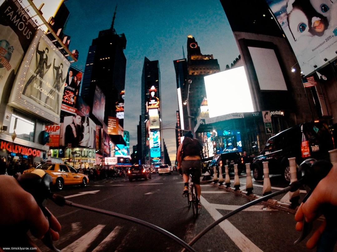 New York through the eyes of a Road Bicycle :: Tim Sklyarov