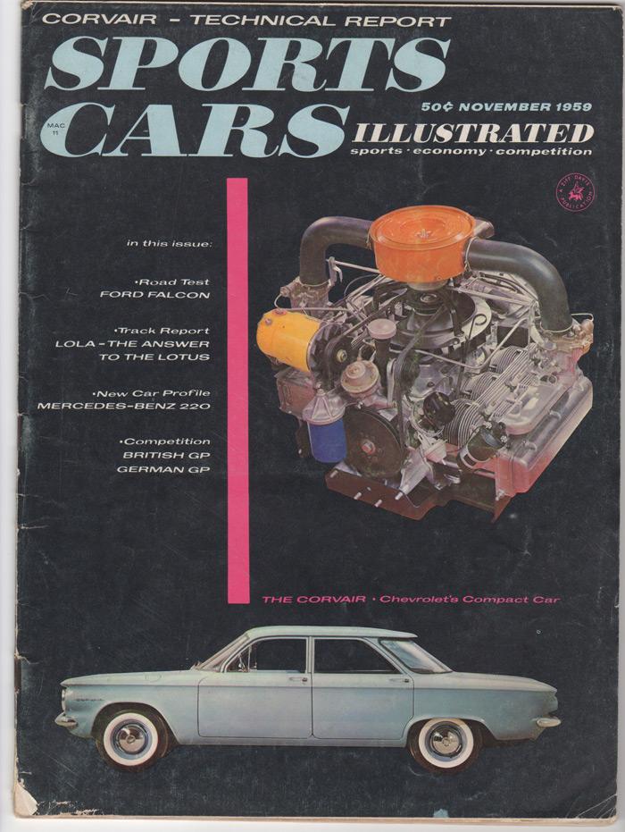 1959 Corvair Cutaway :: Sports Car Illustrated