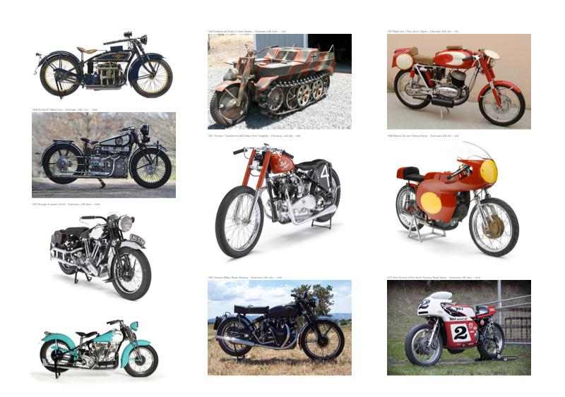 Top Ten Rare Motorcycles For Sale :: Bonhams Quail Lodge Sale