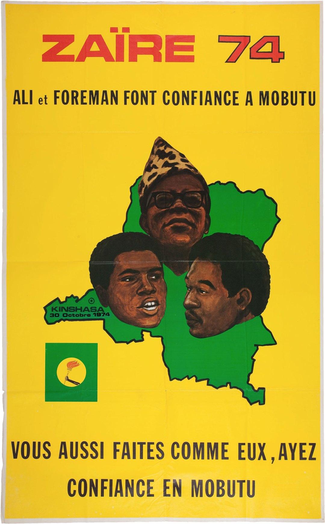 """1974 Ali vs. Foreman ::  """"Rumble in the Jungle"""""""