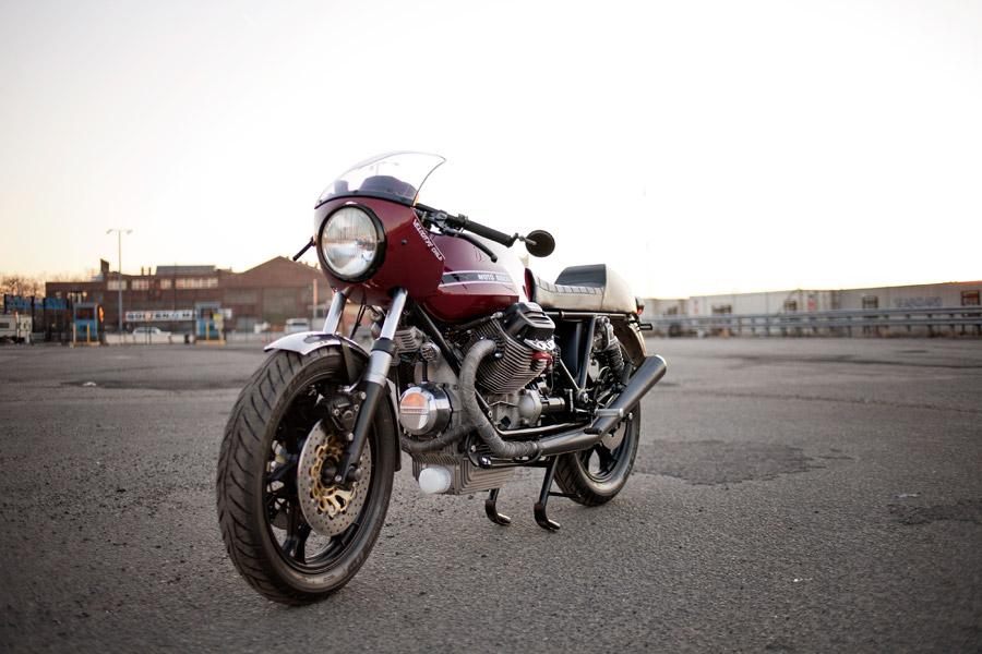 Moto Guzzi Le Mans Resto-Mod via BIKE EXIF