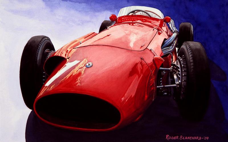 Fangio's Maserati II