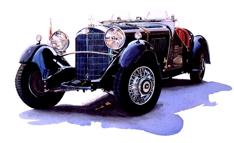 1933 Mercedes 380k Special roadster