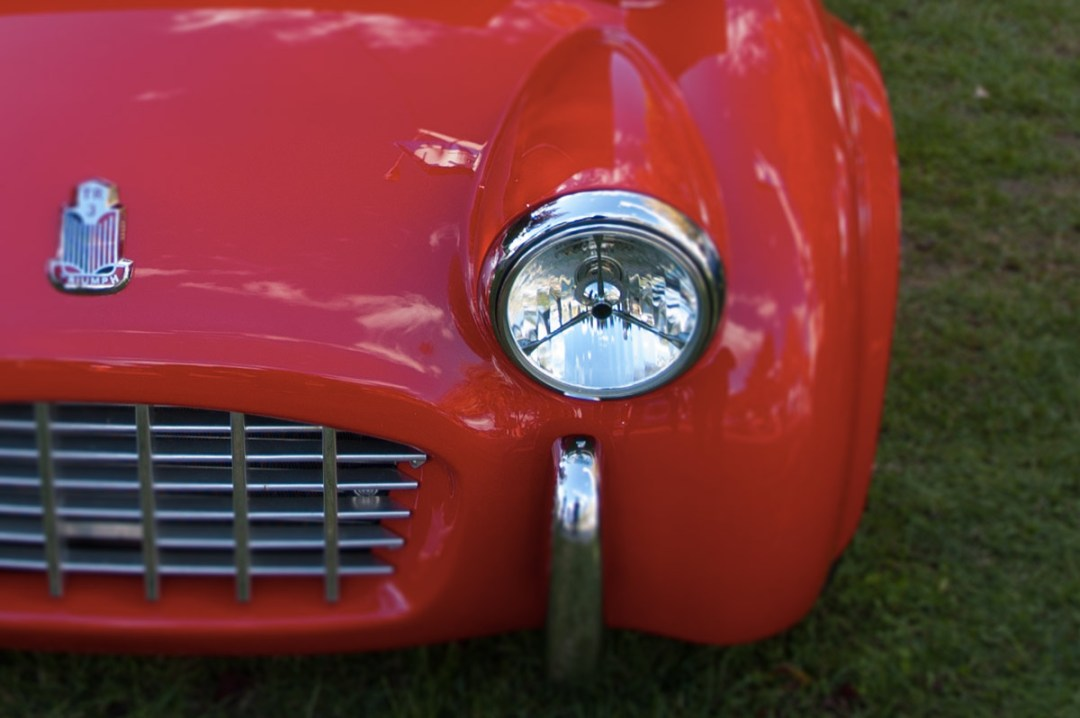 1957 Triumph TR3 :: Interview with Owner Lloyd Bedeger (2)