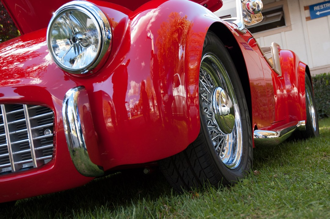 1957 Triumph TR3 :: Interview with Owner Lloyd Bedeger (5)