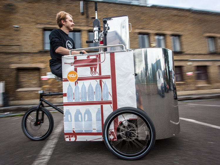 Velopresso :: Pedal Powered Expresso Stand (4)
