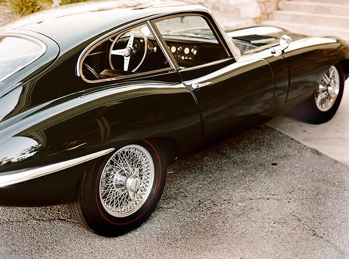 Jaguar E-Type by Andrew Paynter