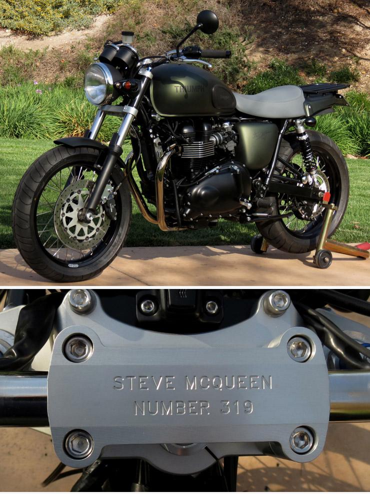 Steve McQueen Limited-Edition Triumph