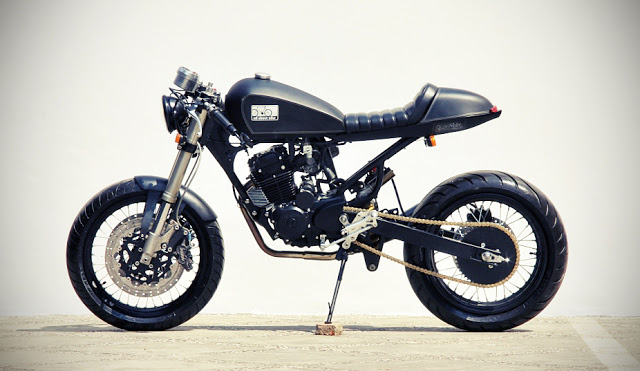 "Honda GL-200 ""Black Bull"" by Studio Motor :: via Free The Wheels"