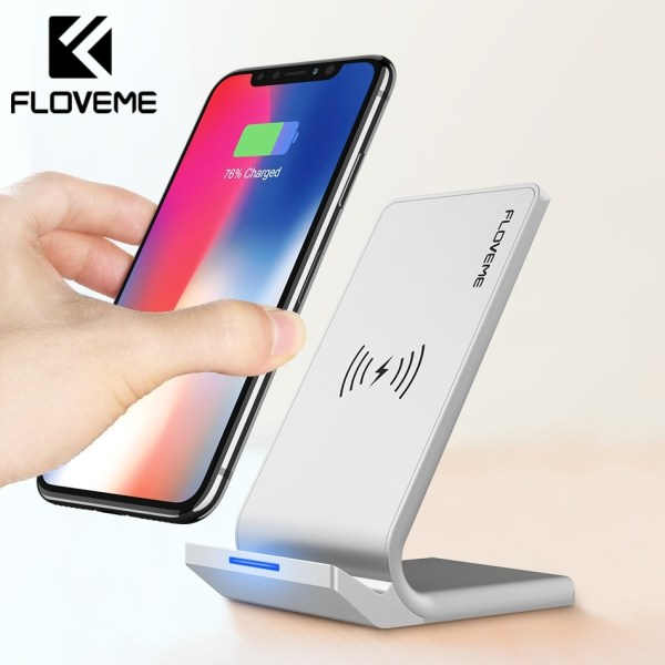 FLOVEME Universal Qi Fast Wireless 10W Power Charger For ...