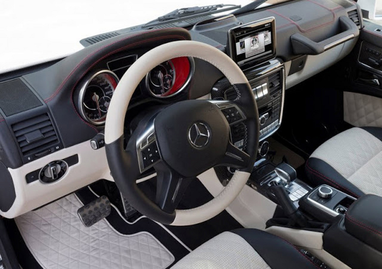 g wagon interior 3 - G Wagon Matte Black Interior